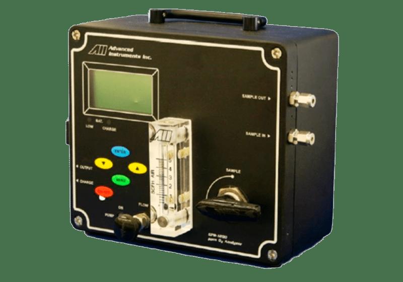 Analizador portátil de trazas de oxígeno GPR-1200