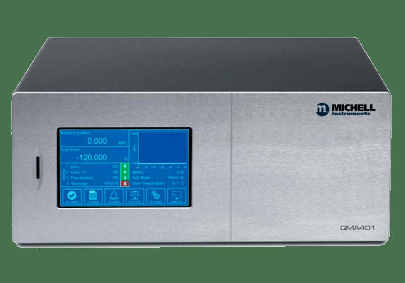 Analizador de trazas de humedad en gases puros QMA 401