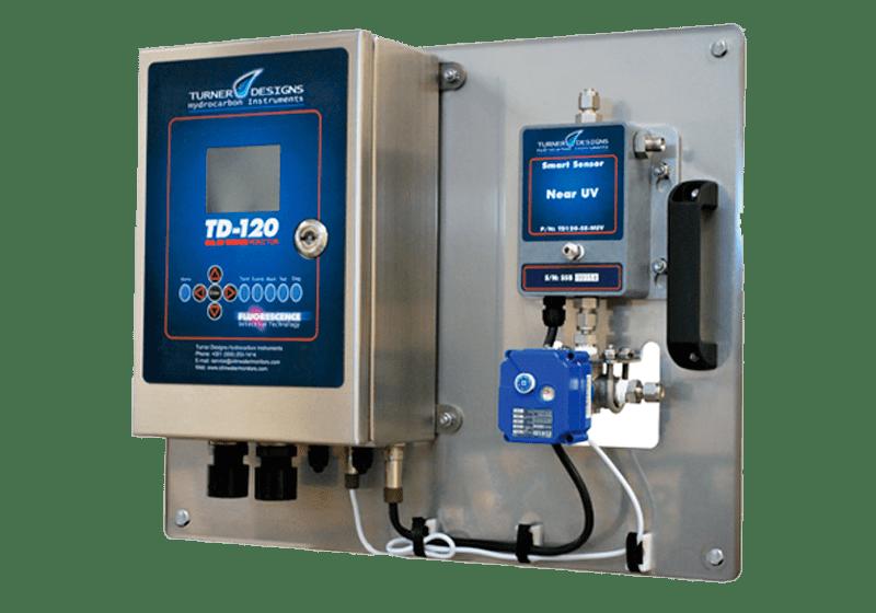 Analizador de hidrocarburos en agua TD-120