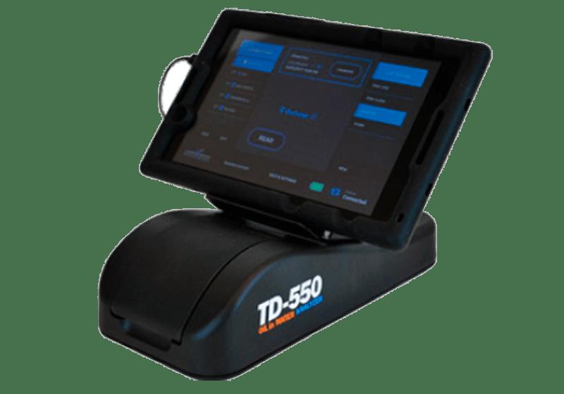 Analizador portatil de hidrocarburos en agua TD-550