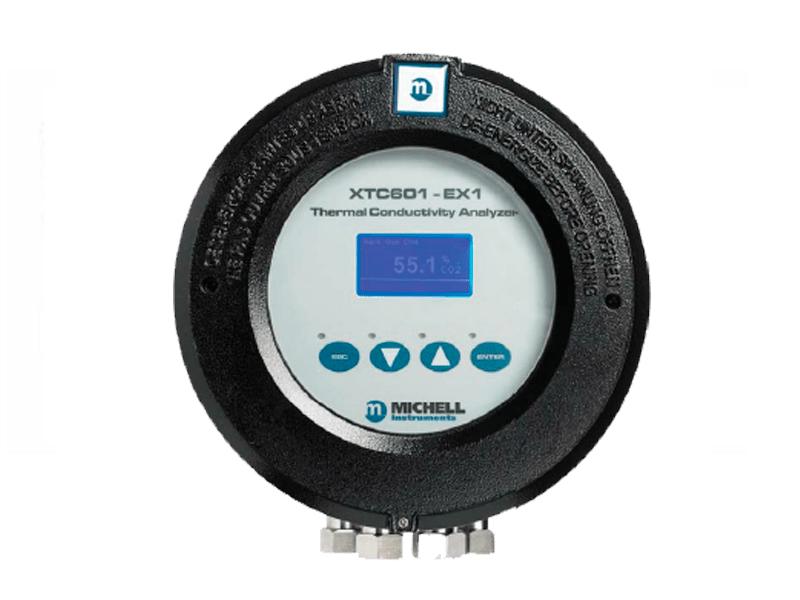 Analizador de hidrógeno en mezclas binarias XTC 601